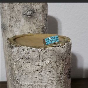 💍 Guess Silver and Turquoise ring